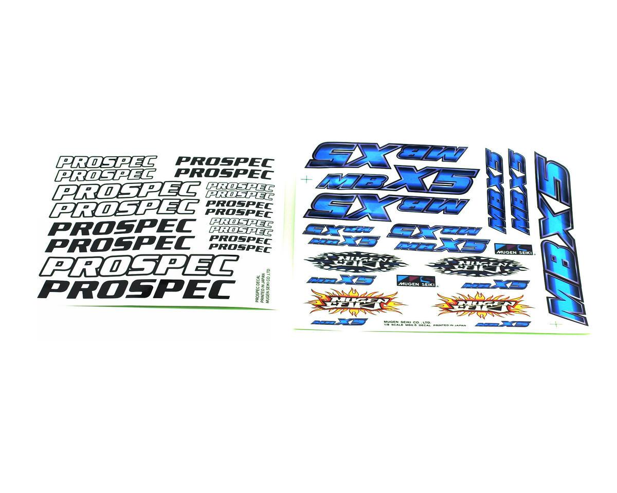 Mugen Seiki Decal Sheet MBX5