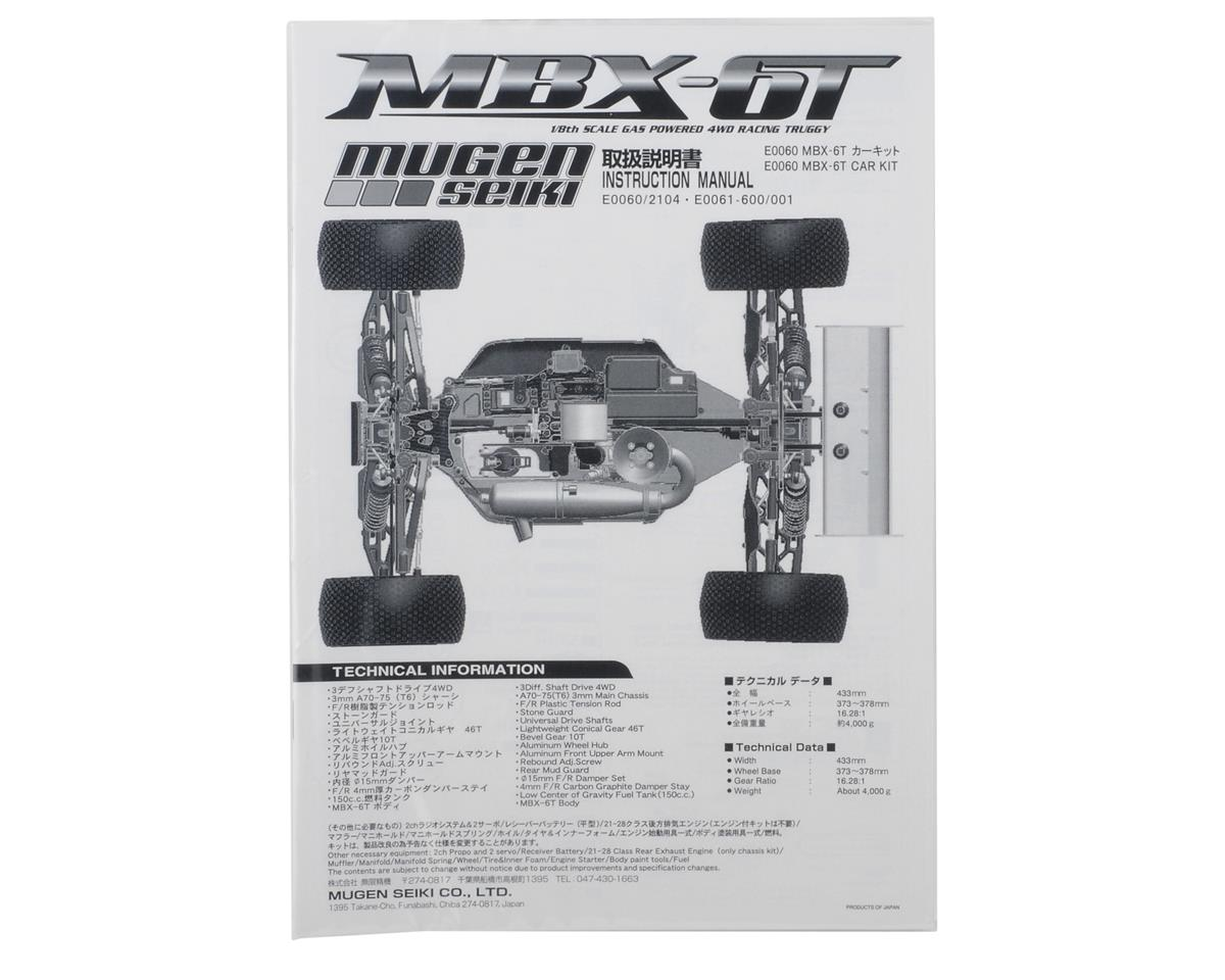Mugen Seiki MBX6T Instruction Manual