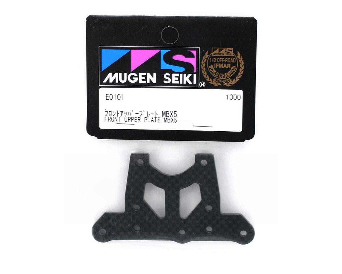 Mugen Seiki Front Graphite Upper Plate: X5, X5T