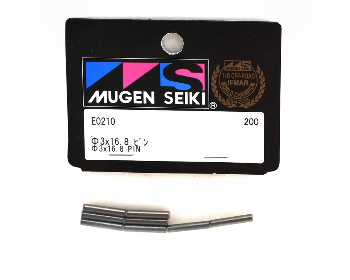 Mugen Seiki 3x16.8 Wheel Hub Pins (8pc): X5