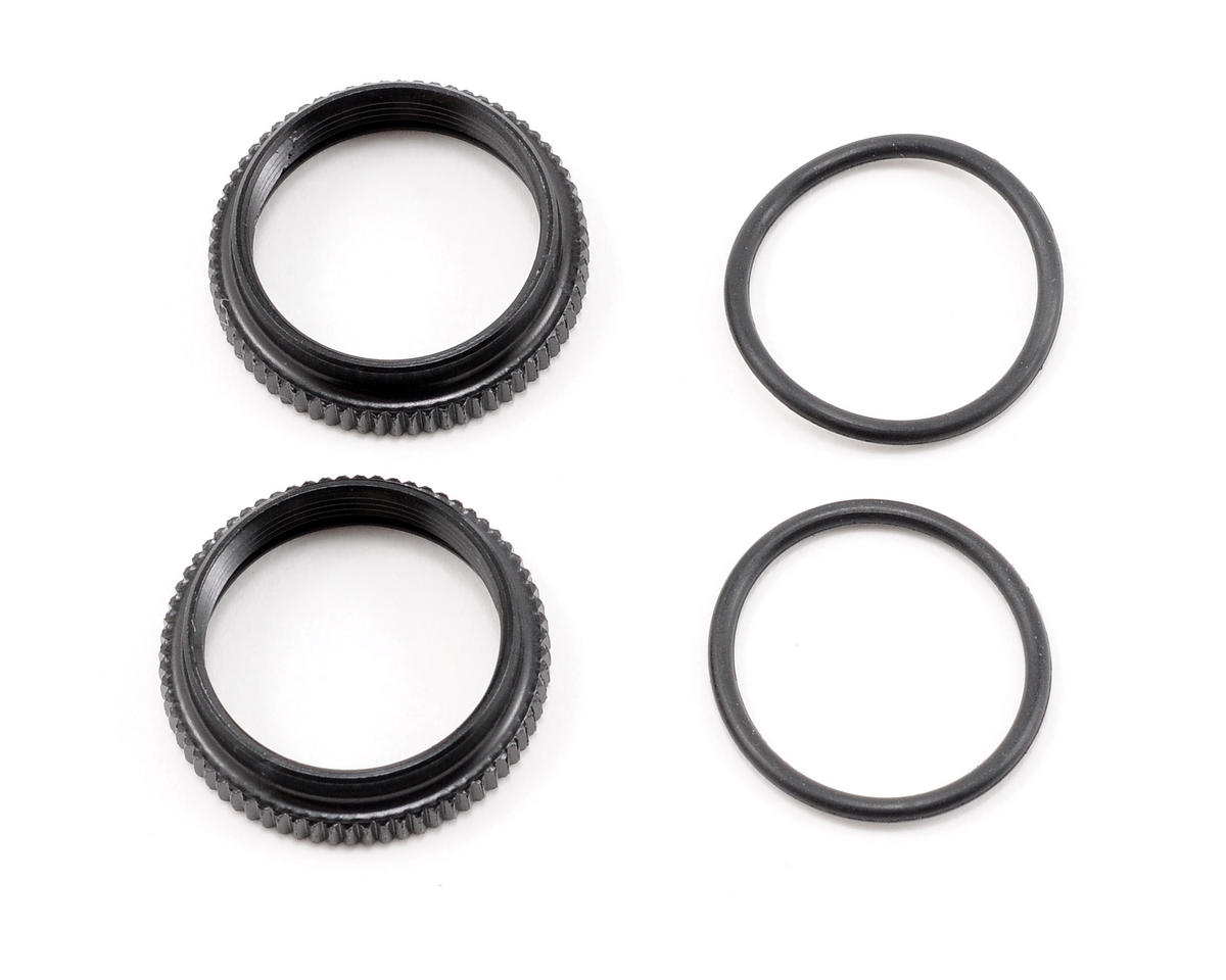 Damper Spring Adjustment Collar Set (2) by Mugen Seiki