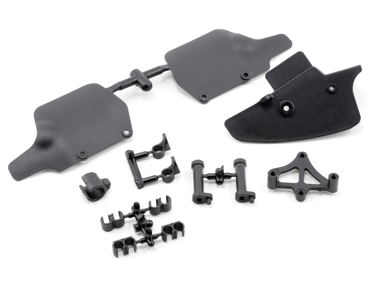 Mugen Seiki Fuel Splash & Mud Guard Set