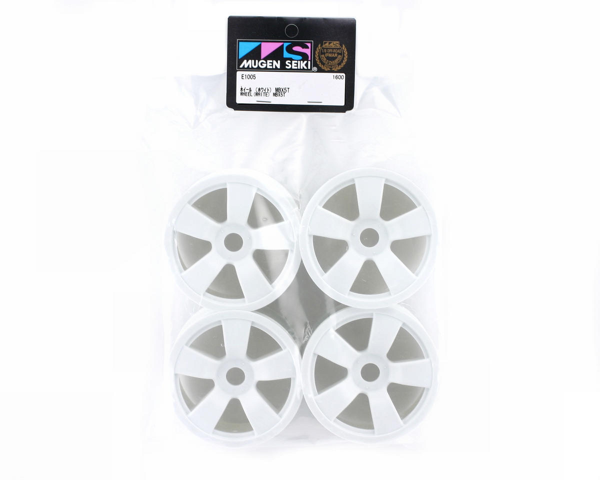 Mugen Seiki Spoke Wheel White (4pcs): X5T