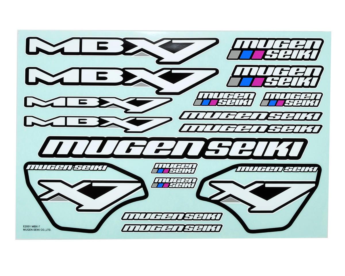 Mugen Seiki MBX7 Decal Sheet