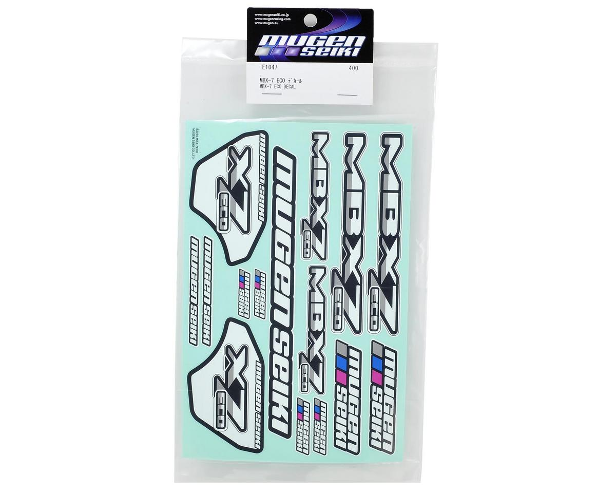 Mugen Seiki MBX7 ECO Decal Sheet