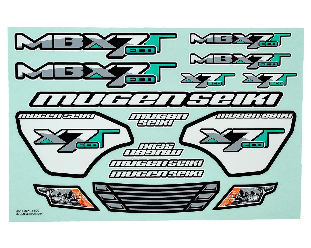 Mugen Seiki MBX7TE Decal Sheet