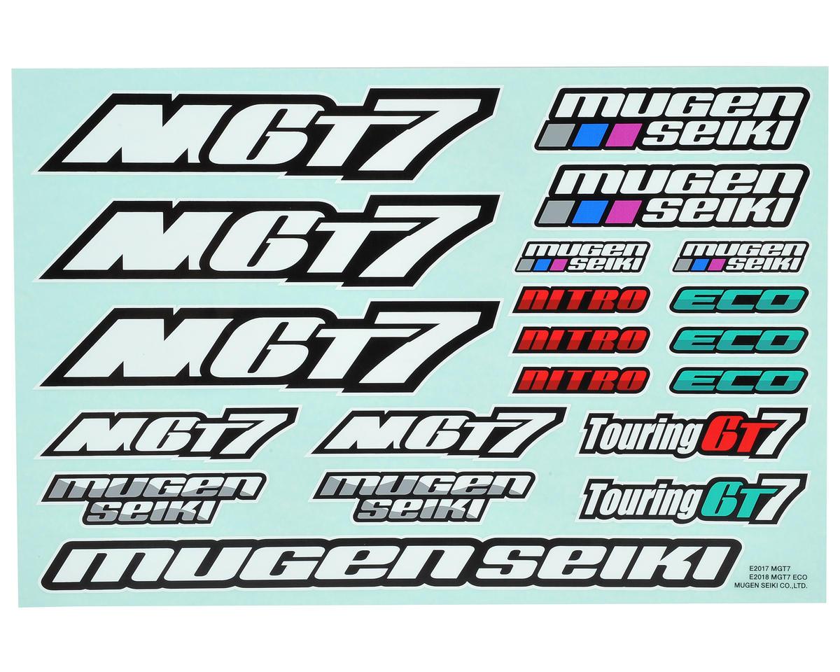Mugen Seiki MGT7 / MGT7E Decal Sheet