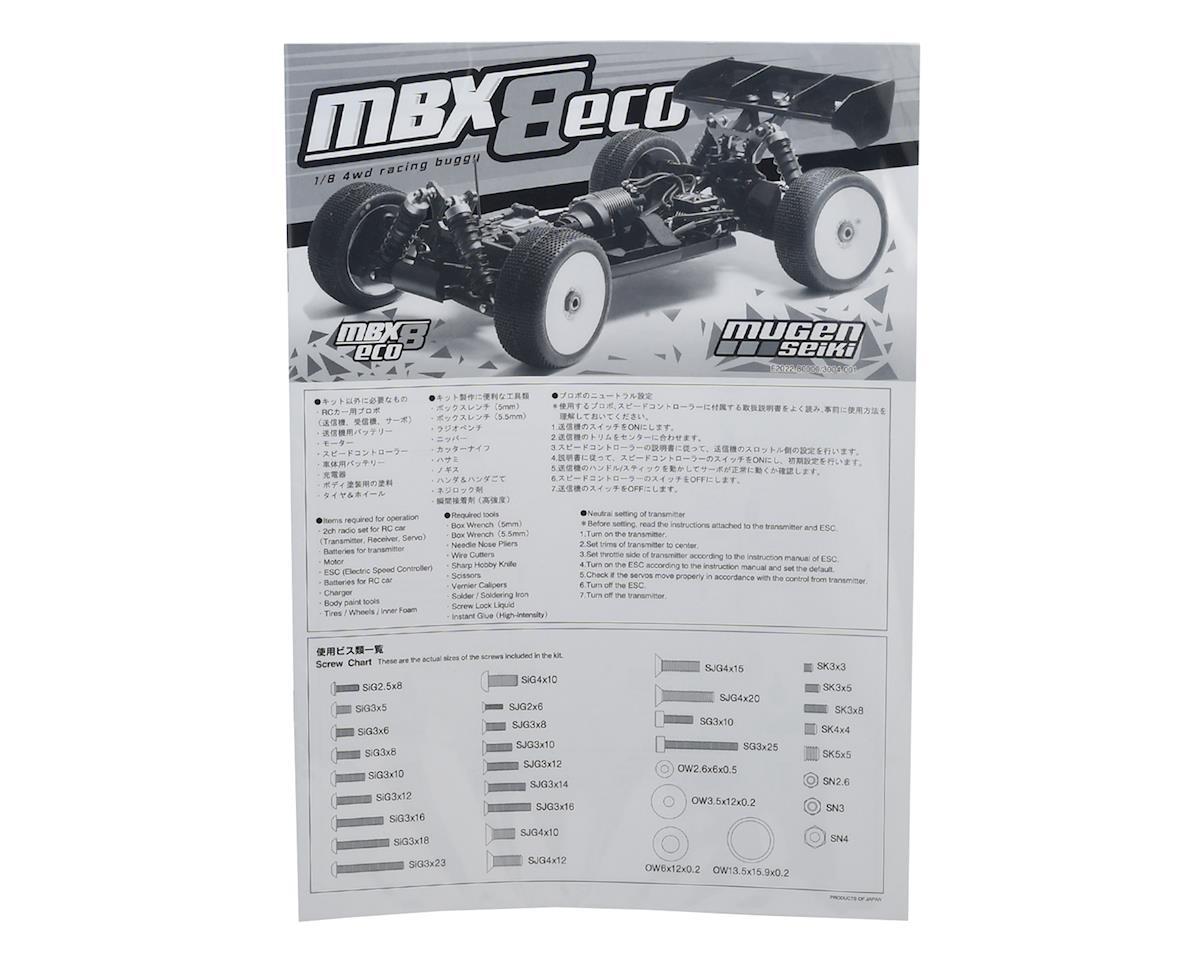 Mugen Seiki MBX8 ECO Instruction Manual