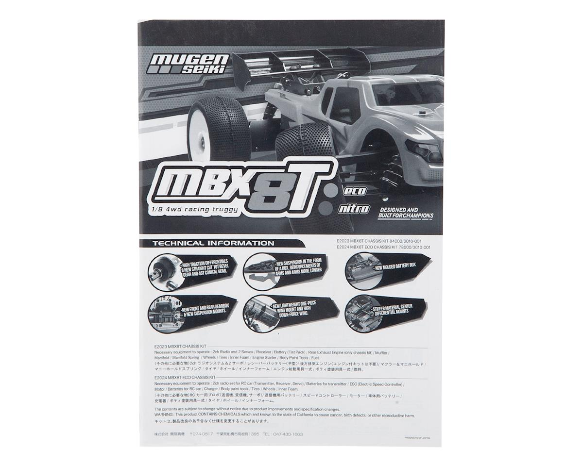 Mugen MBX8T Seiki Instruction Manual