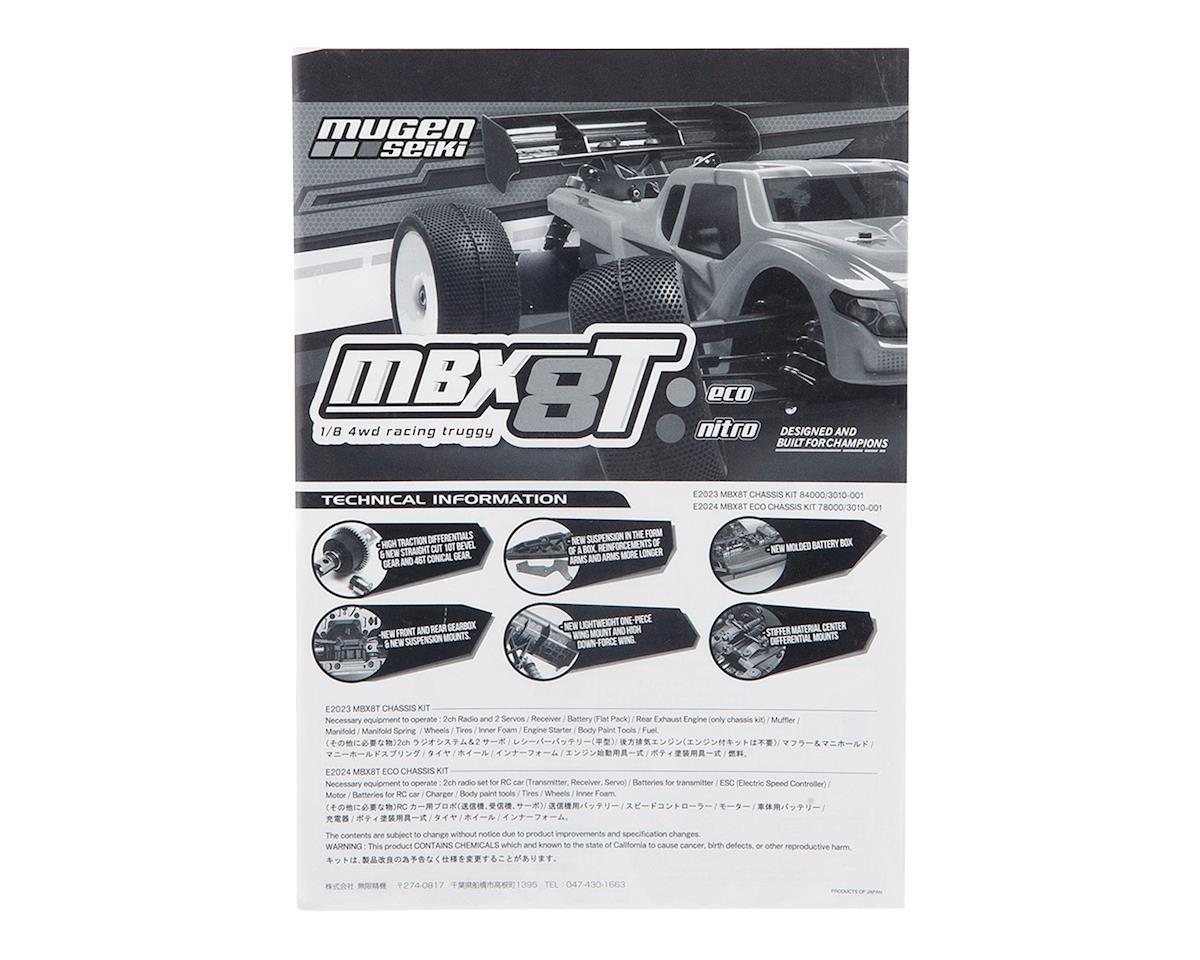 Mugen Seiki MBX8TE Instruction Manual