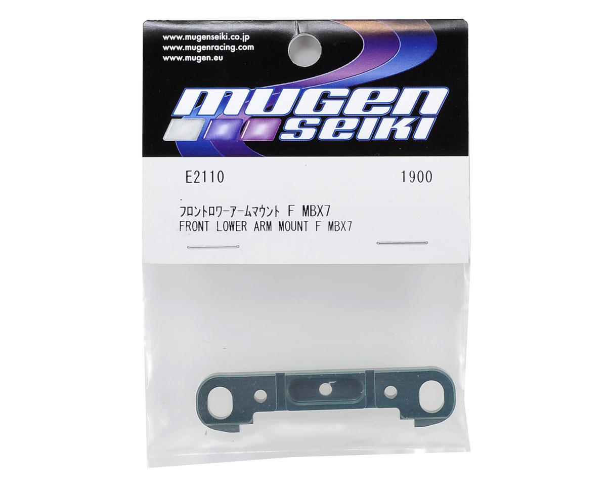 Aluminum Front-Front Lower Suspension Arm Mount by Mugen Seiki