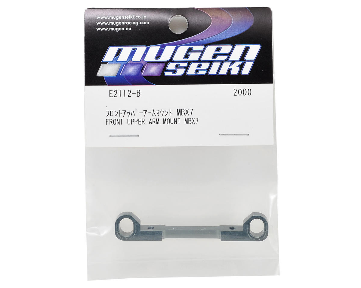 Aluminum Front Upper Suspension Arm Mount (Threaded) by Mugen Seiki