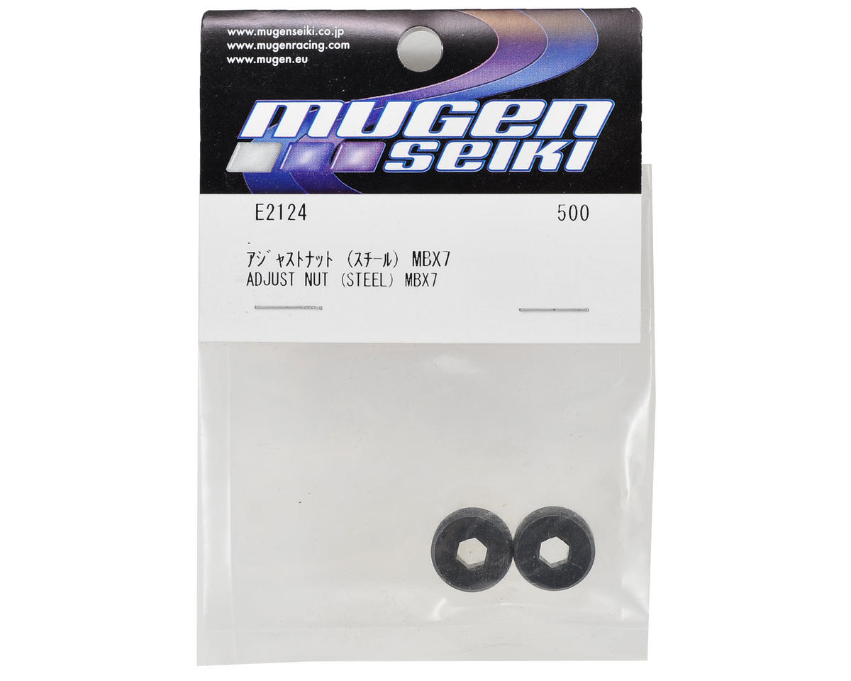 Mugen Seiki Steel Kingpin Ball Adjusting Nut (2)