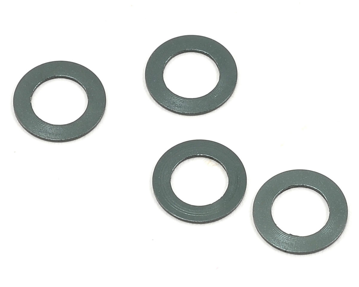 Mugen Seiki 0.5mm Aluminum Front Track Width Spacer (4)