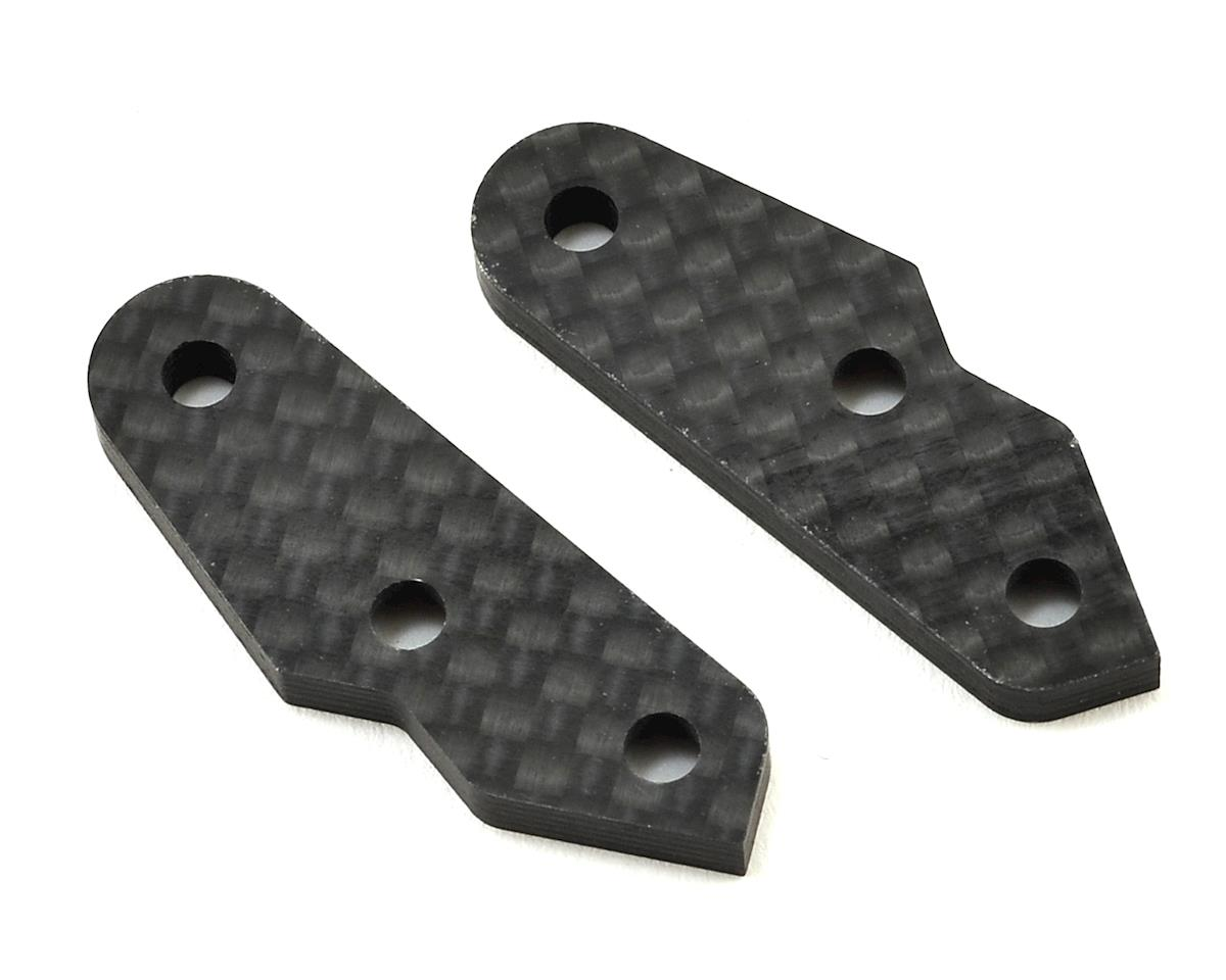 Mugen Seiki Carbon Front Upright Arm (2)