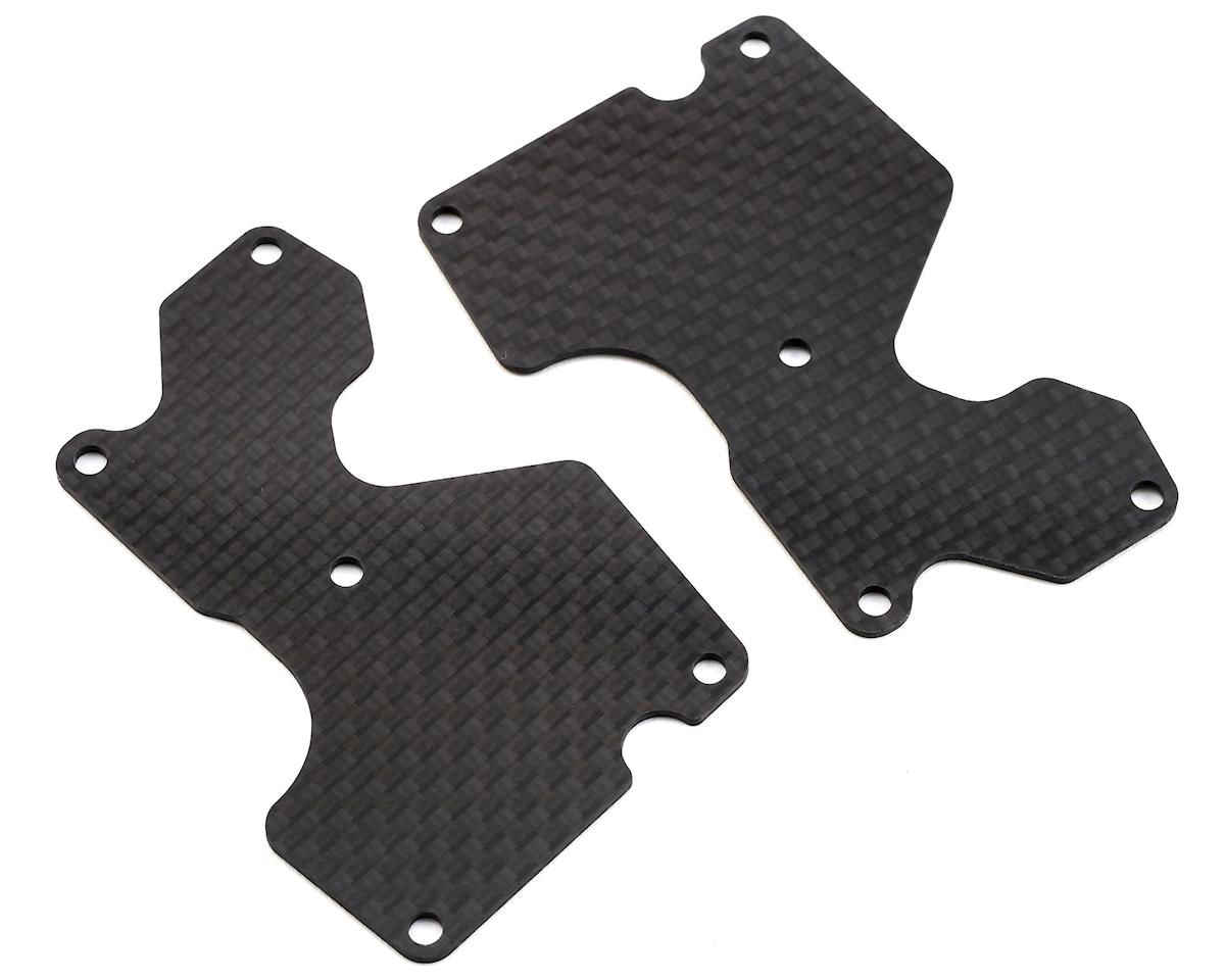 1.2mm MBX8 Graphite Rear Lower Arm Plate (2) by Mugen Seiki