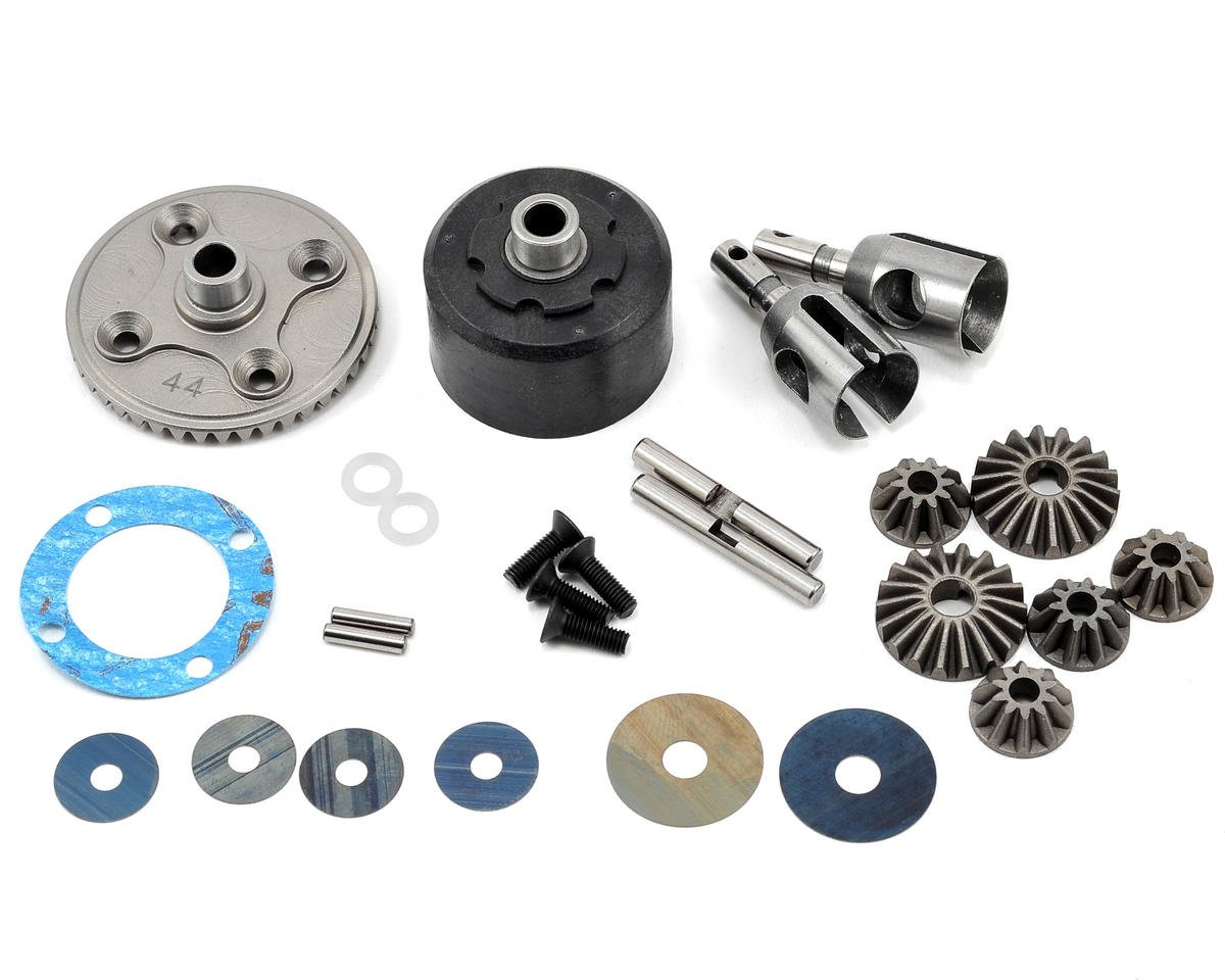Mugen Seiki MBX7 Complete Front/Rear Differential Set