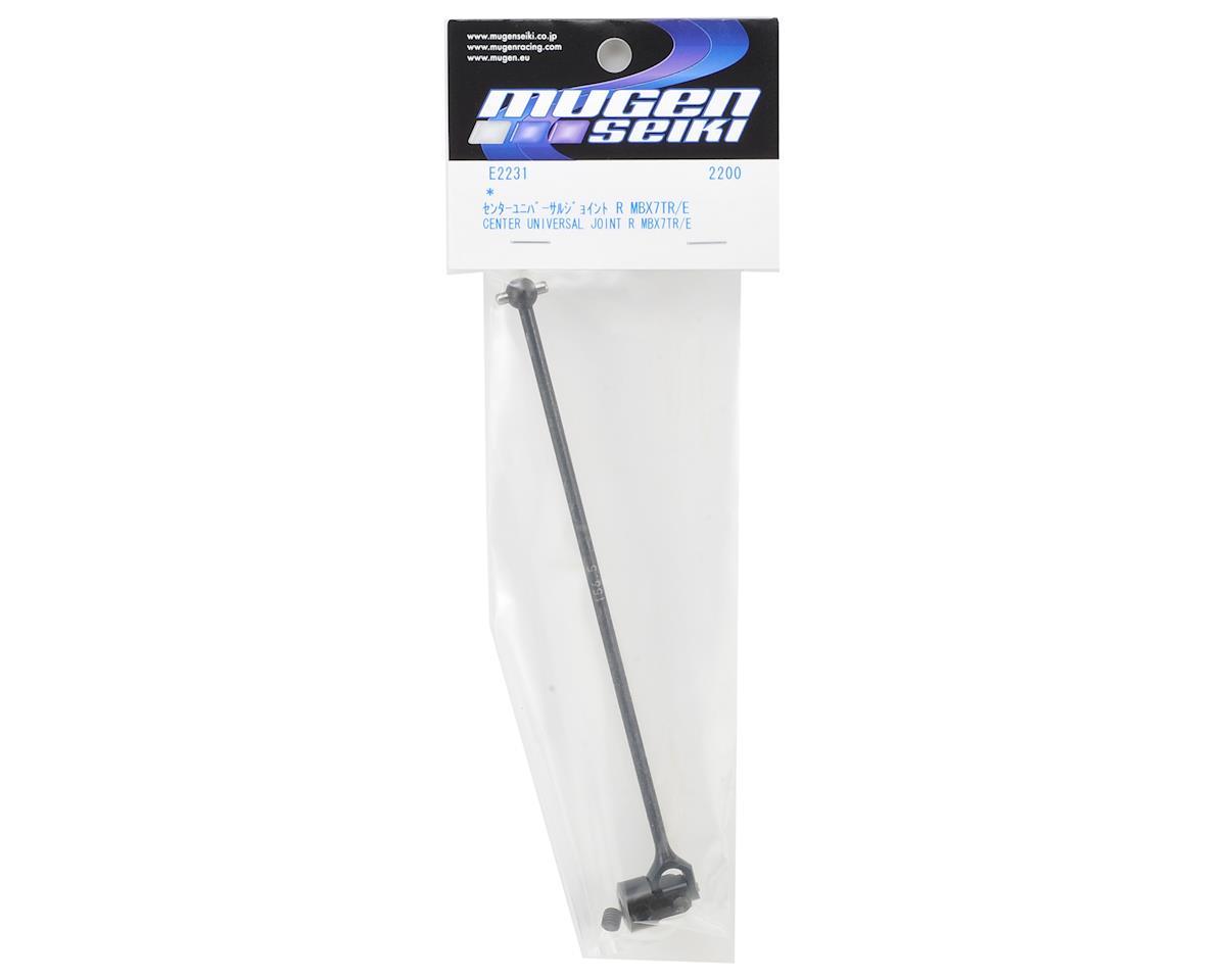 156.5mm Rear Center Universal Driveshaft (MBX7TR/E) by Mugen Seiki