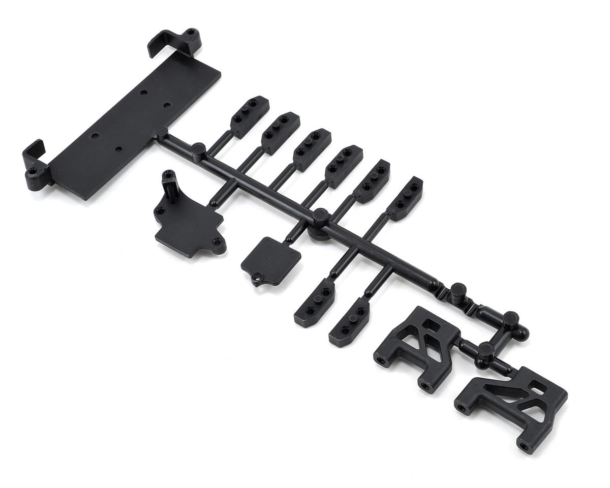 Mugen Seiki Radio Tray Mount/Battery Holder Set