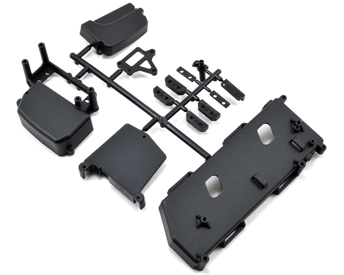 Mugen MBX7TE Seiki Radio Box & Battery Tray Set