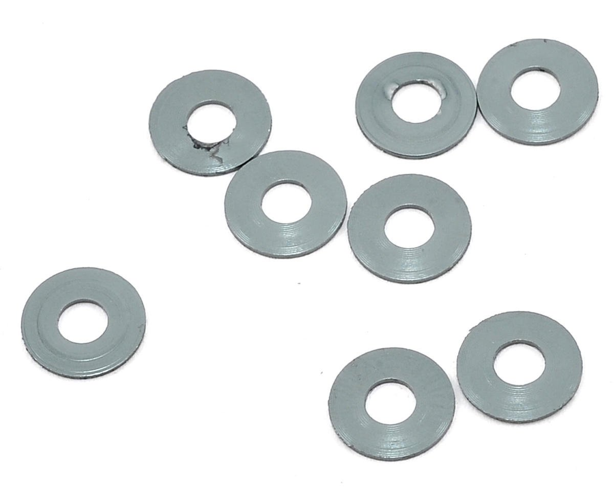 Mugen Seiki 3x8x0.5mm Roll Center Washer (Gray) (8)