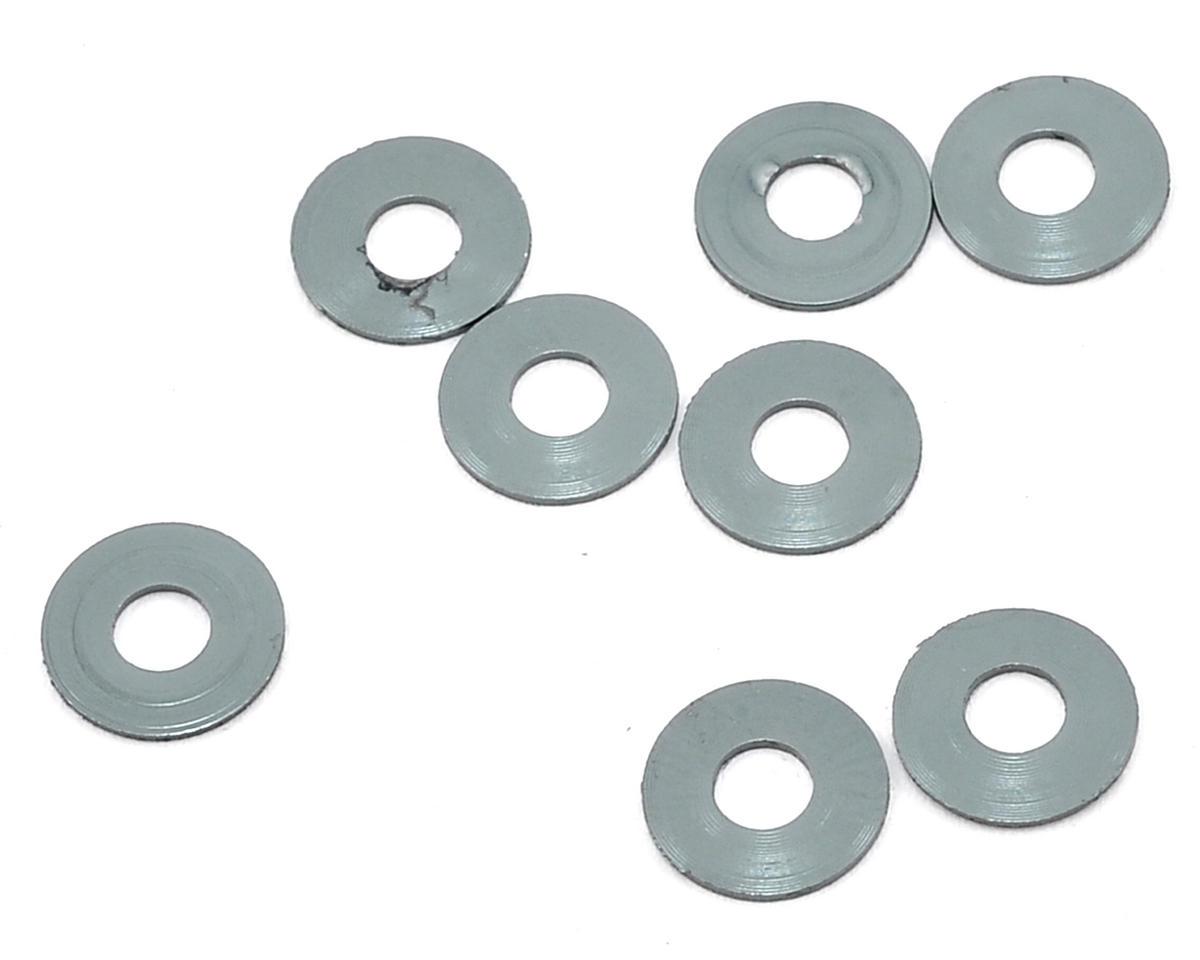 Mugen Seiki 3x8x0.5mm Roll Center Washer (Gray) (8)