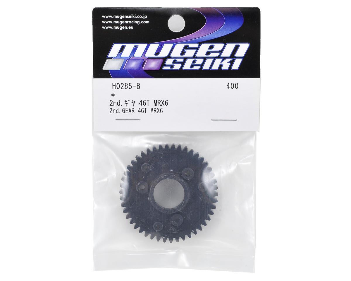 MRX6 2nd Gear Spur Gear (46T) by Mugen Seiki