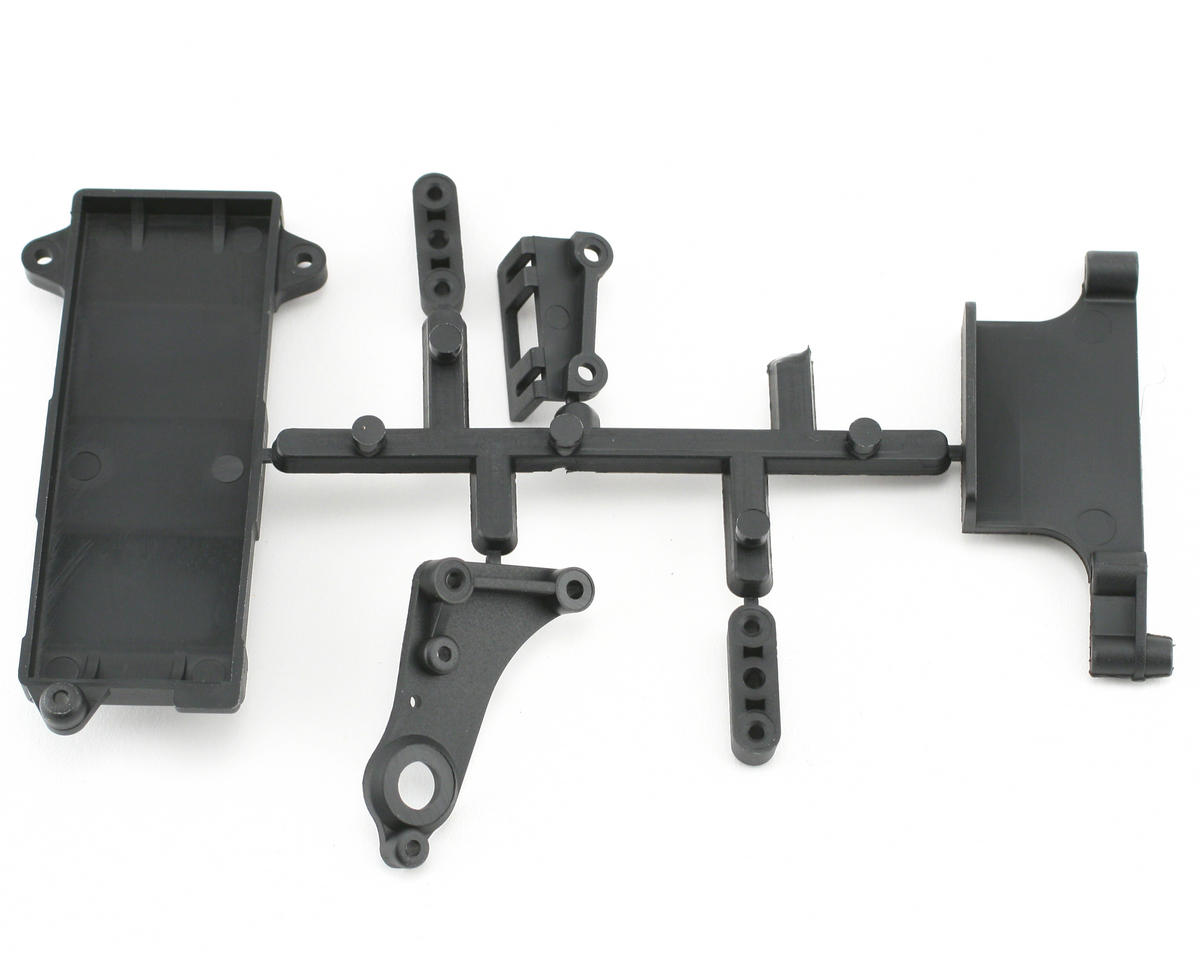 Mugen Seiki MRX4X Radio/Battery Mounting Parts Set
