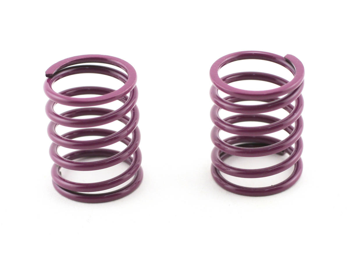 Mugen Seiki Front Shock Springs 1.6 (Purple) (MTX) (2)