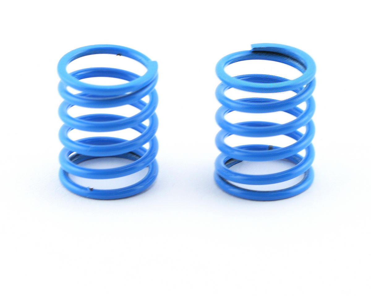 Mugen Seiki Front Shock Springs 1.7 (Light Blue) (MTX/MSX) (2)