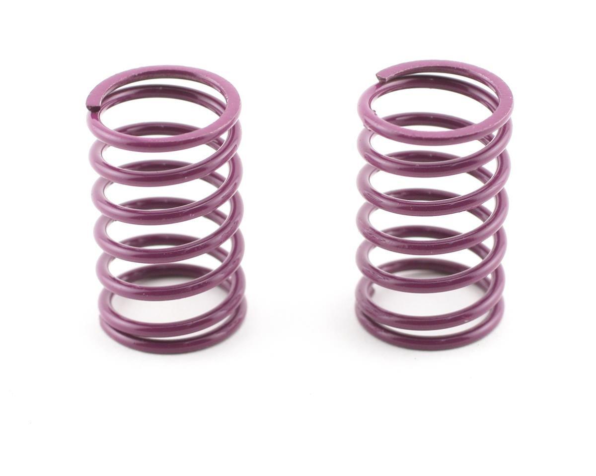 Rear Shock Springs 1.6 (Purple) (MTX) (2) by Mugen Seiki