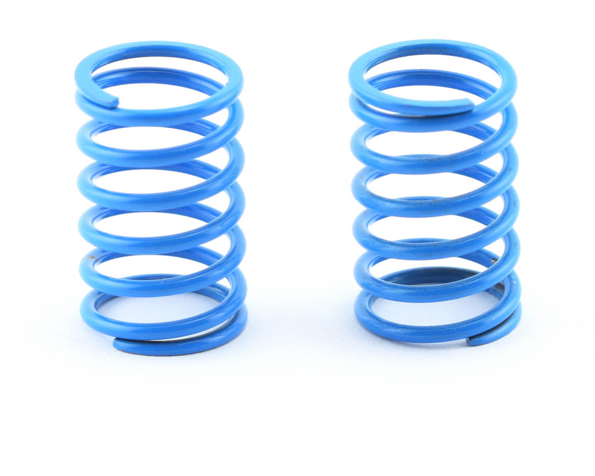 Mugen Seiki Rear Shock Springs 1.7 (Light Blue) (MTX/MSX) (2)
