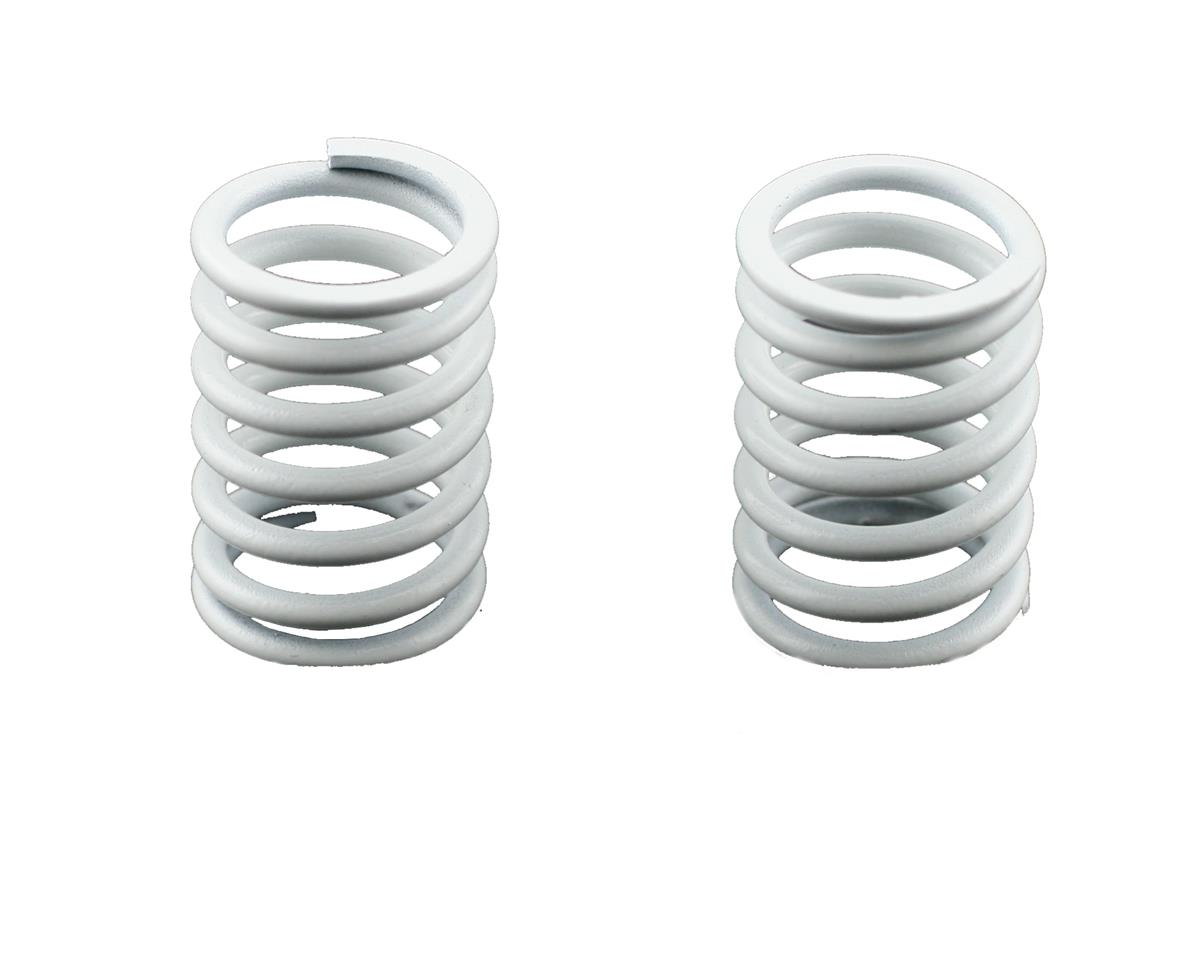 Rear Shock Springs 1.9 (White) (MRX/MTX) (2) by Mugen Seiki MTX4R