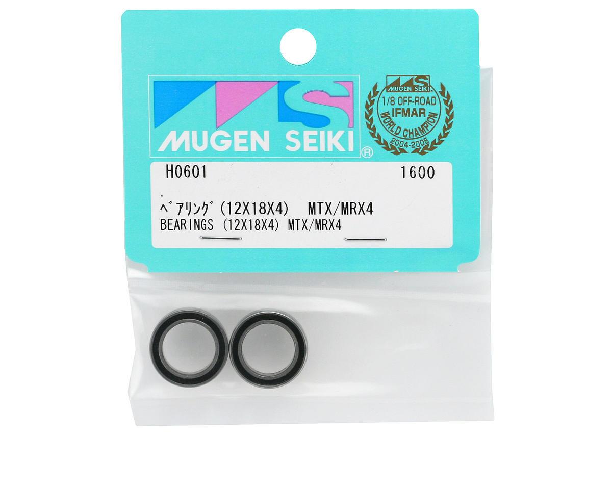 Mugen Seiki 12x18x4mm Bearing (MTX/MRX4) (2)