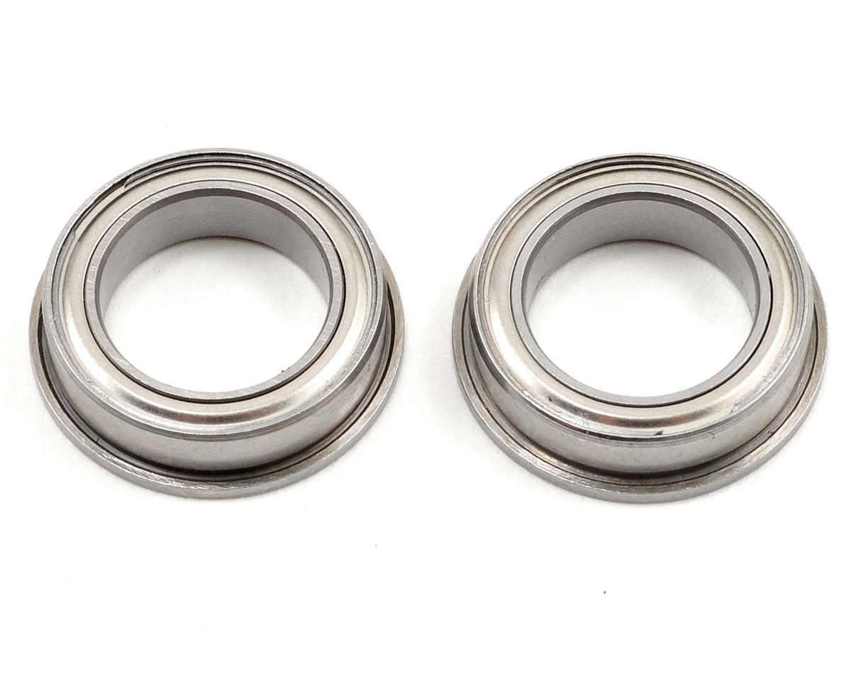 10x15x4mm Flanged Bearing (2) by Mugen Seiki