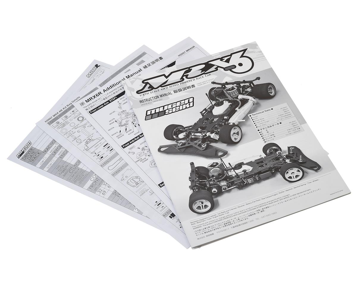 Mugen Seiki MRX6R Instruction Manual [MUGH1021] | Cars & Trucks