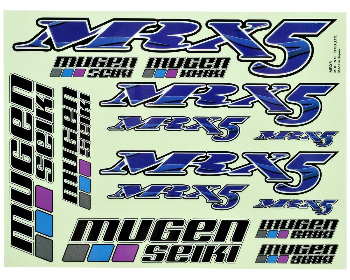 Mugen Seiki MRX5 Decal Sheet