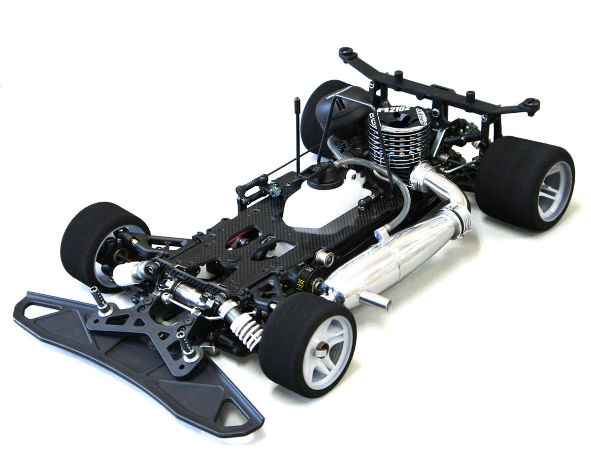 MRX6 1/8 4WD Competition Nitro Car Kit