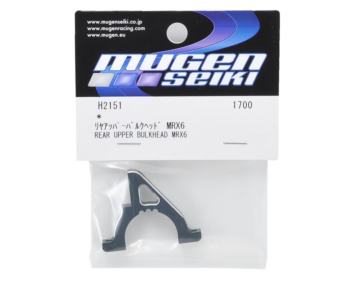 Mugen Seiki MRX6 Rear Aluminum Upper Bulkhead