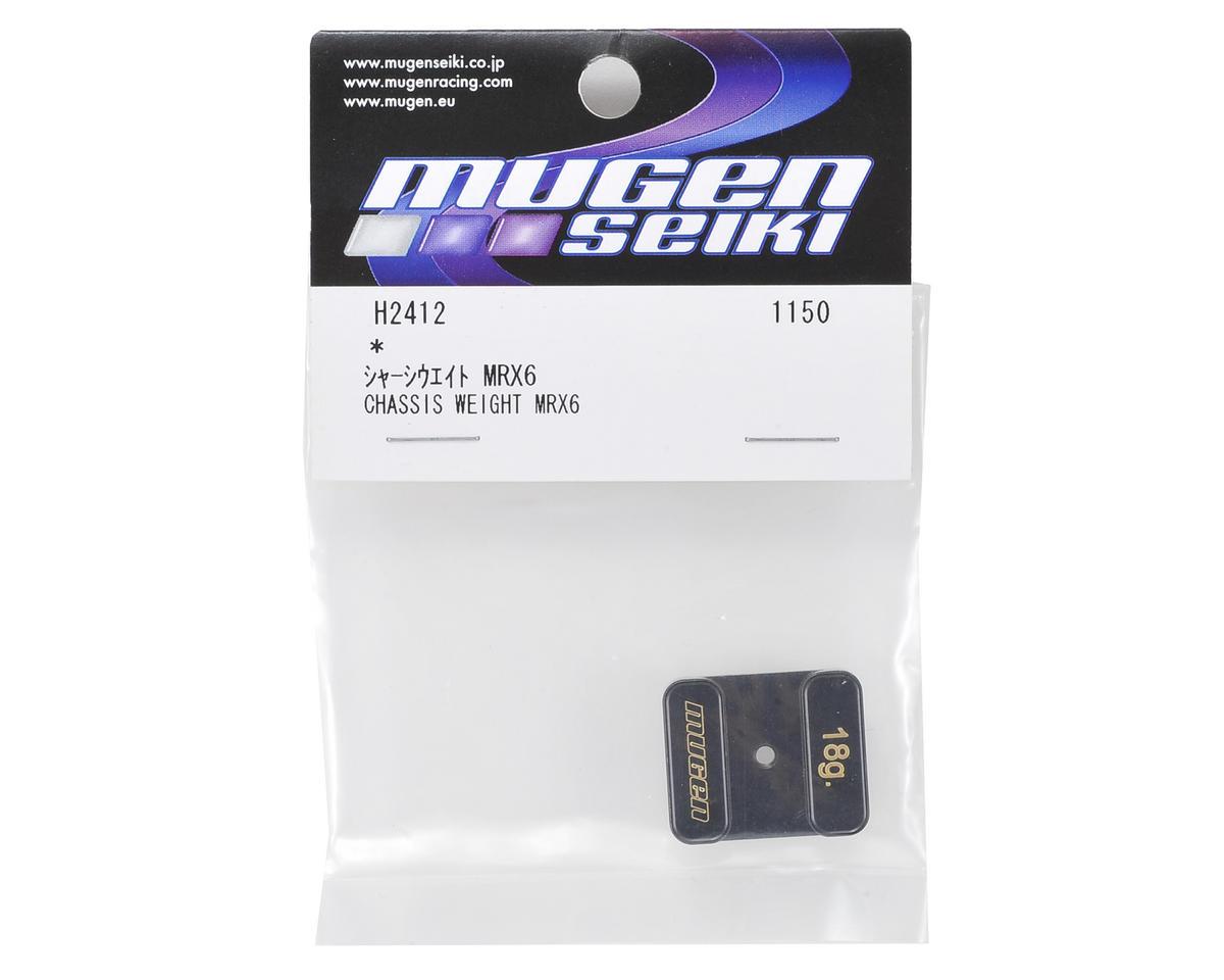 Mugen Seiki MRX6 Chassis Weight (18g)