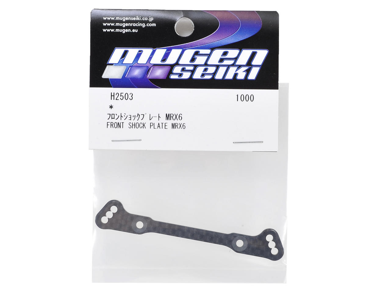 MRX6 Front Graphite Shock Tower by Mugen Seiki