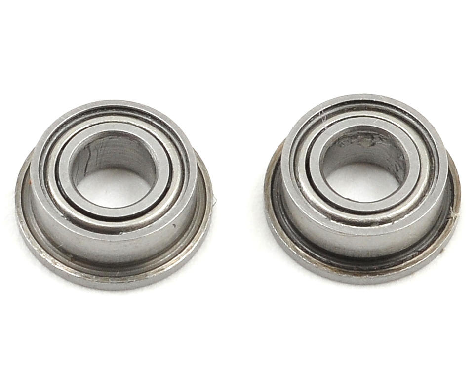 3x6x2.5mm Flanged Bearing Set (2) by Mugen Seiki
