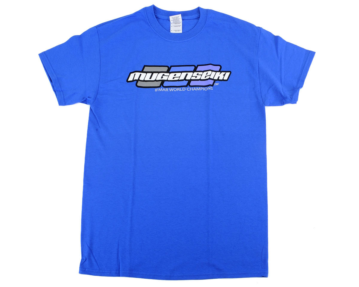 """3 Dot"" T-Shirt (Blue) by Mugen Seiki"