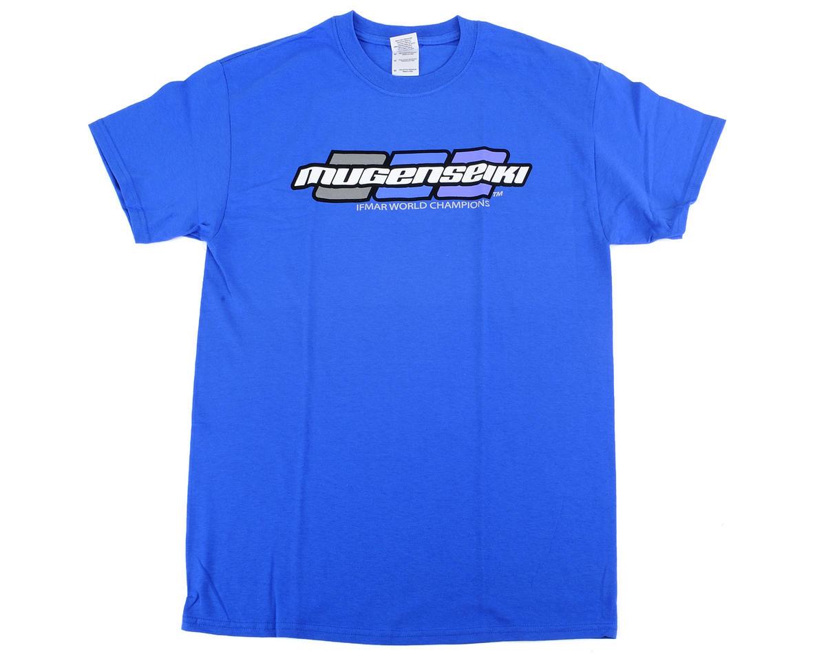 """Mugen Seiki """"3 Dot"""" T-Shirt (Blue) (Blue) (2XL)"""