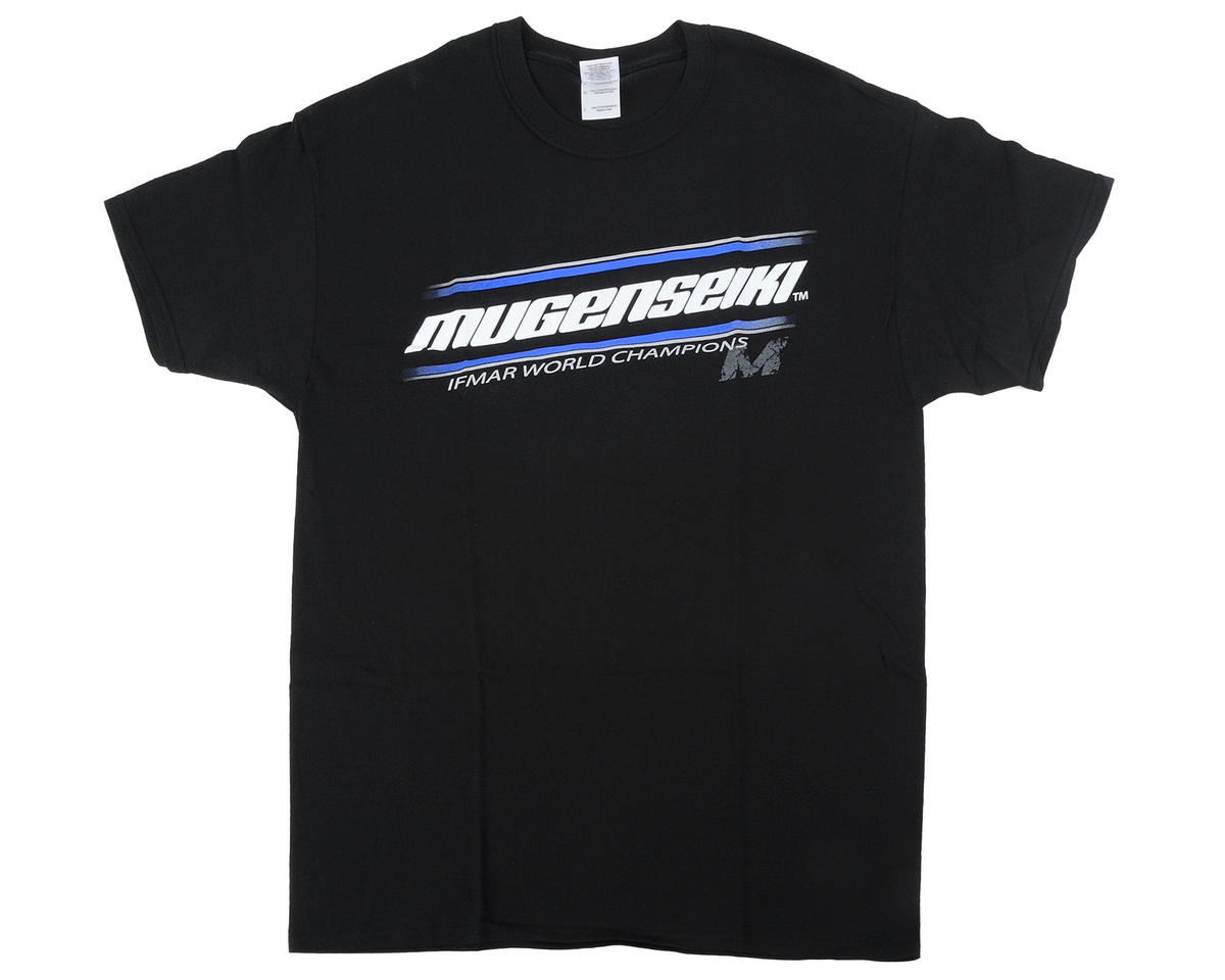 "Mugen Seiki ""WC"" Black T-Shirt (Black) (XL)"