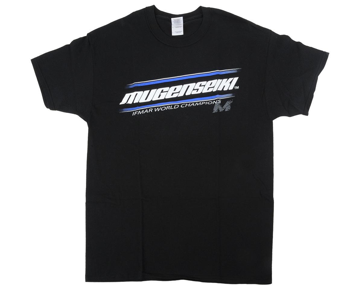 "Mugen Seiki ""WC"" Black T-Shirt (Black) (XL)"