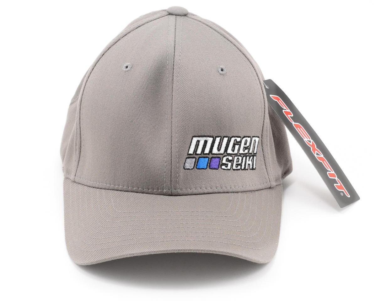 Mugen Seiki Flexfit Baseball Cap (Grey) (S/M)