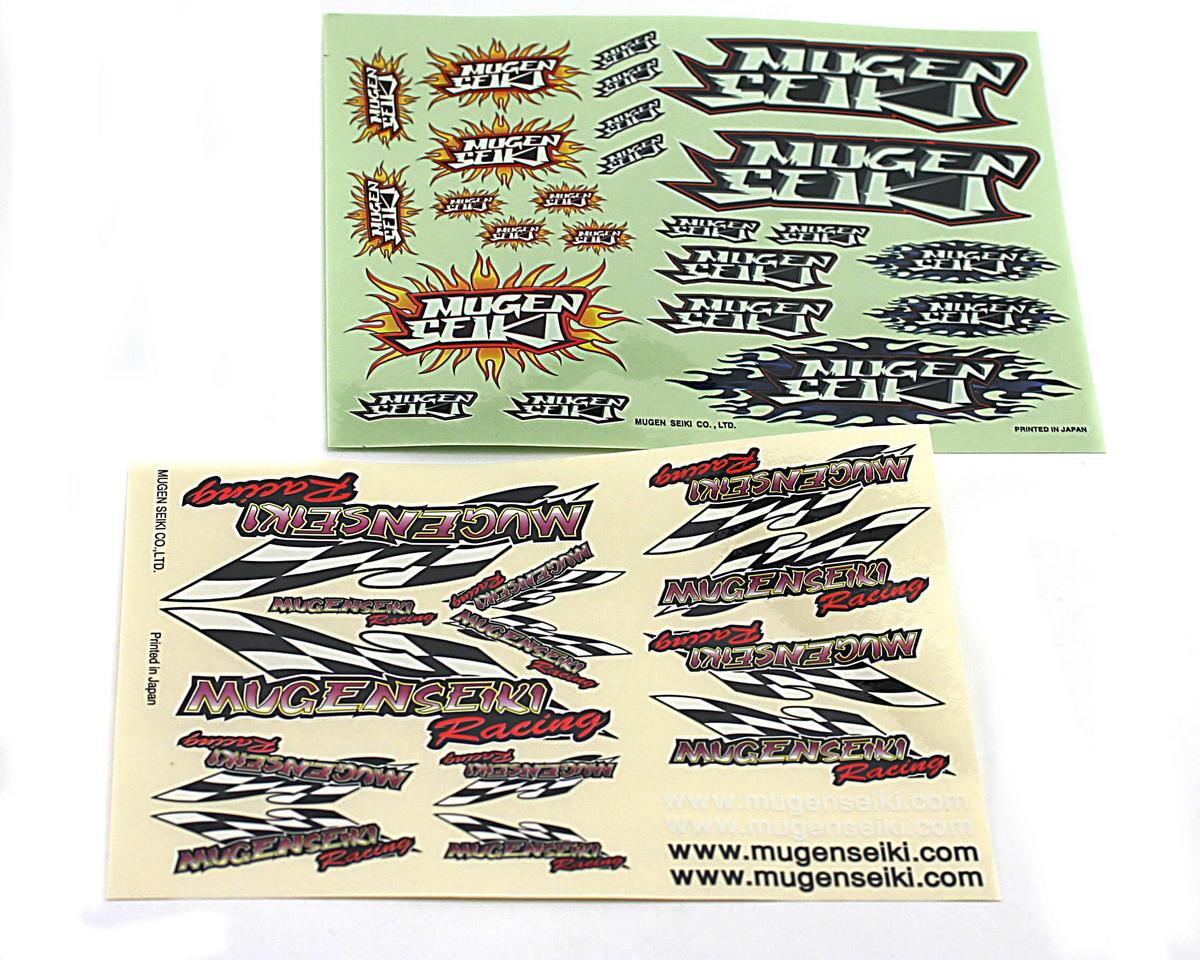 Mugen Seiki Sticker Flag & Flame
