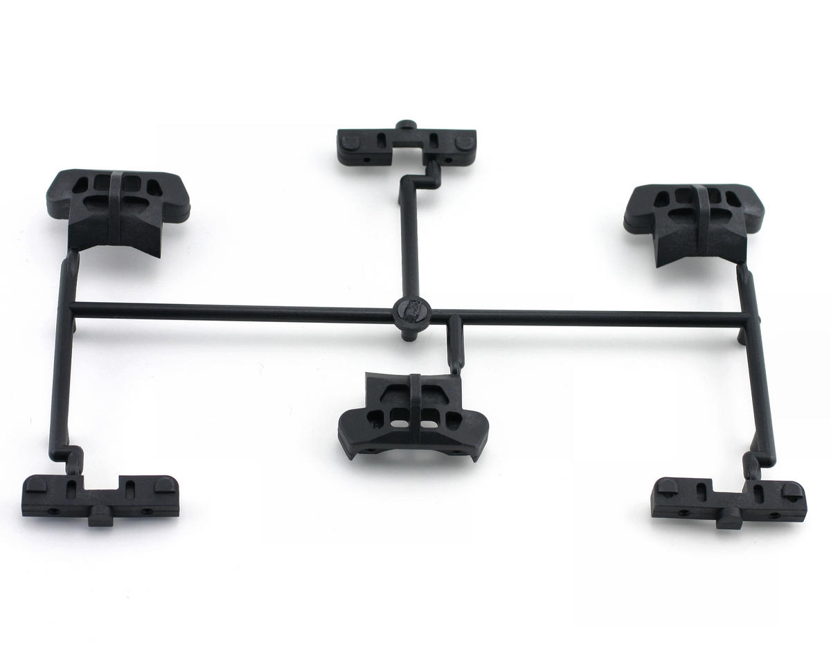 Mugen Seiki MTX3 Rear Lower Arm Mount: MTX-3