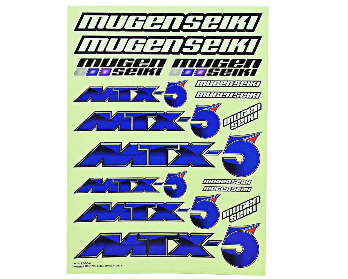 Mugen Seiki Decal Sheet (MTX5)